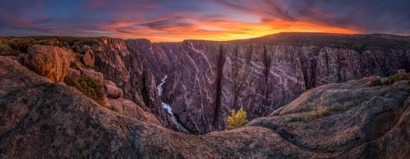 Black-Canyon-of-the-Gunnison-Sunset_WEB